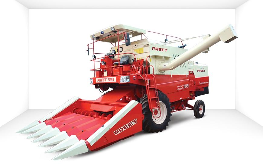 7049   maize special combine harvester