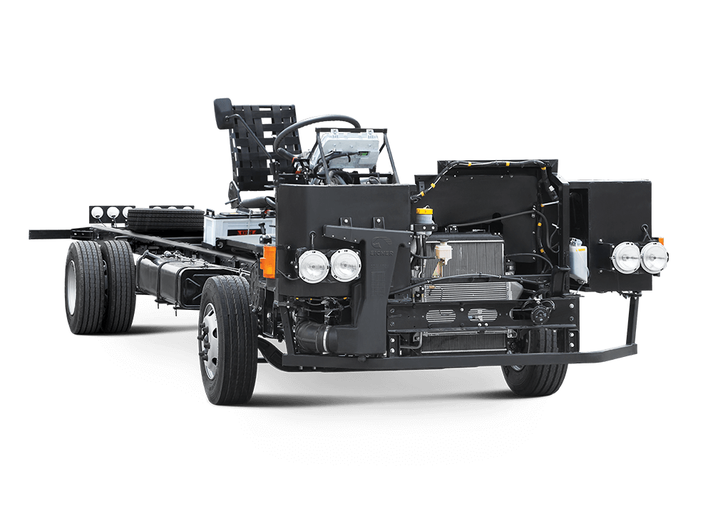 pro 3009 l ac bus chassis