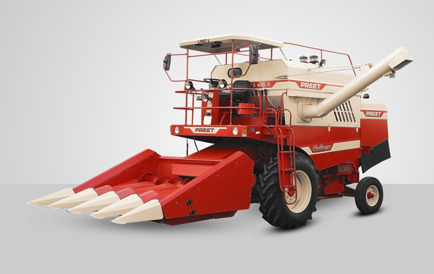 849   mini maize special combine harvester