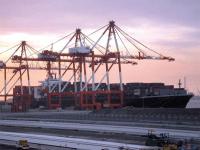 ( 1 over 6 ) container crane