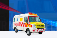 traveller als ambulance